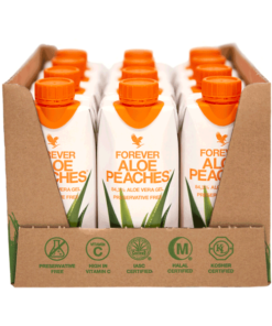 Aloe Peaches 330ml (pack of 12)
